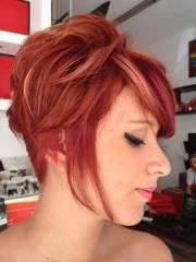hair color ideas short