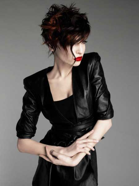 Messy Short Hairstyles For Women Short Hairstyles 2017