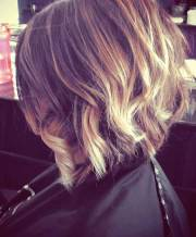 short ombre hairstyle hairstyles