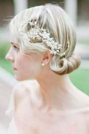 short wedding hairstyles women