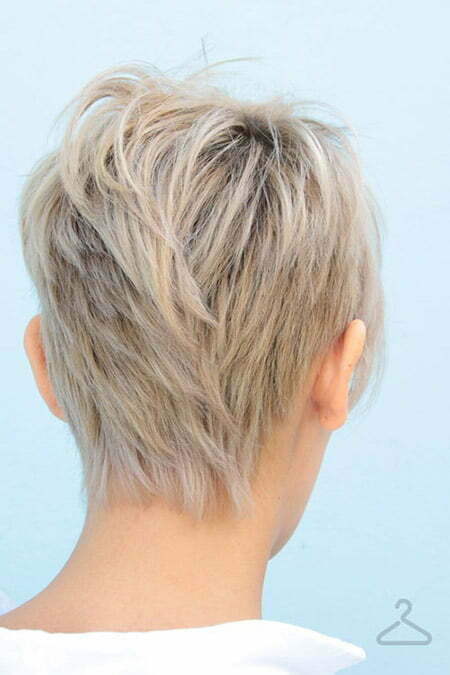 Tapered Haircut Back