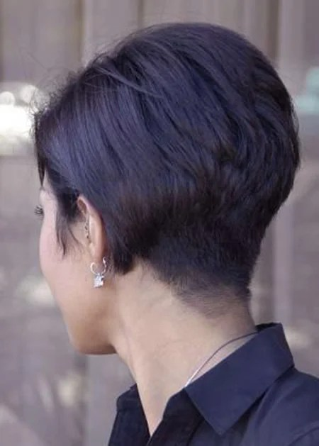 Back View Of Short Haircuts Short Hairstyles 2016 2017 Most