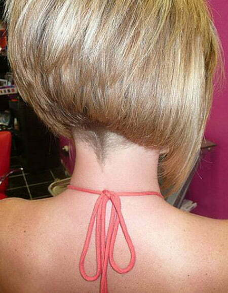 Back View of Short Haircuts  Short Hairstyles 2018  2019