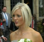 short hairstyles weddings