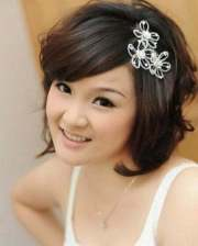 short bridal hair ideas