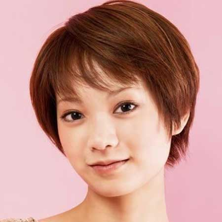 30 Best Short Hairstyles For Round Faces Short Hairstyles 2016