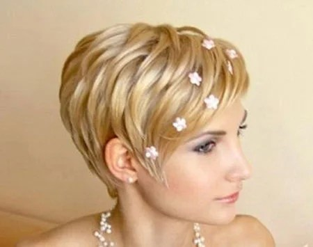 Short Wedding Hairstyles Short Hairstyles 2016 2017 Most