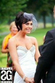 wedding styles short hair
