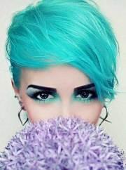 color short haircuts