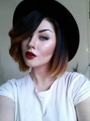 short hair color trends 2013