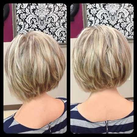 Inverted Bob Haircuts 2013 2014 Short Hairstyles 2016 2017