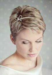 short hair wedding styles