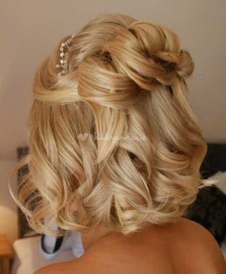 Short Hairstyles for Weddings 2014