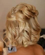 short hairstyles weddings 2014