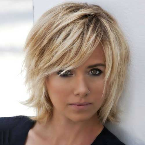 20 Choppy Bob Haircuts Short Hairstyles 2016 2017 Most