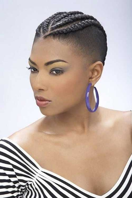 Braids For Black Women With Short Hair Short Hairstyles 2016