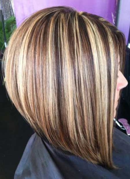 Red And Blonde Highlights Light Brown Hair