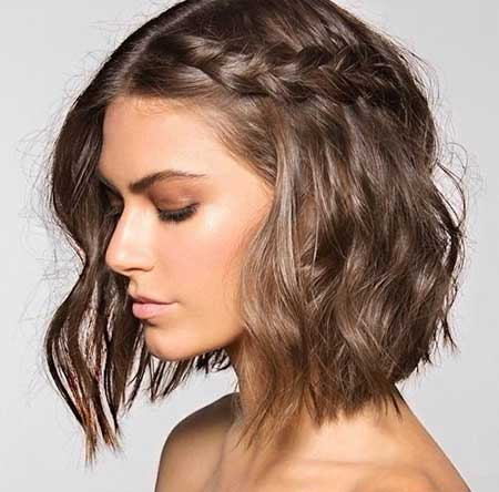 20 Short Braided Hairstyle Short Hairstyles 2016 2017 Most