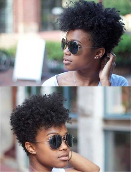 Hairstyles For Black Women With Short Hair