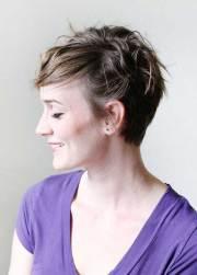pixie cut thin hair short