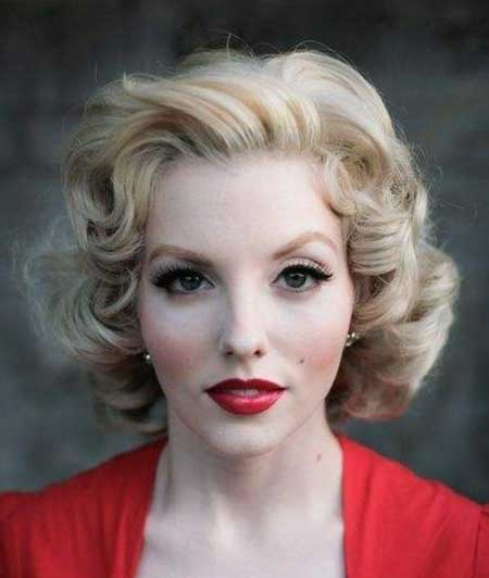Vintage Hairstyles Short Hair Short Hairstyles 2016 2017