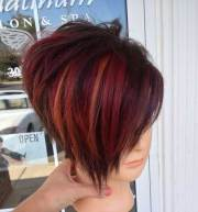 short hairstyle color ideas