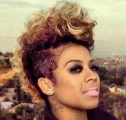 mohawk short hairstyles black