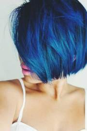 short haircuts and colors