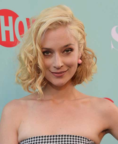 Celebrity Short Curly Hairstyles  Short Hairstyles 2017