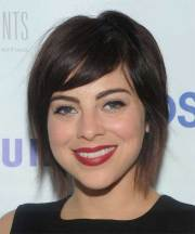short straight casual hairstyles