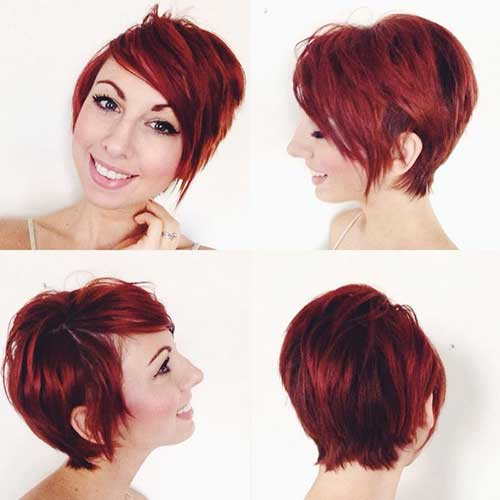 30 Long Red Pixie Hairstyles Hairstyles Ideas Walk The Falls
