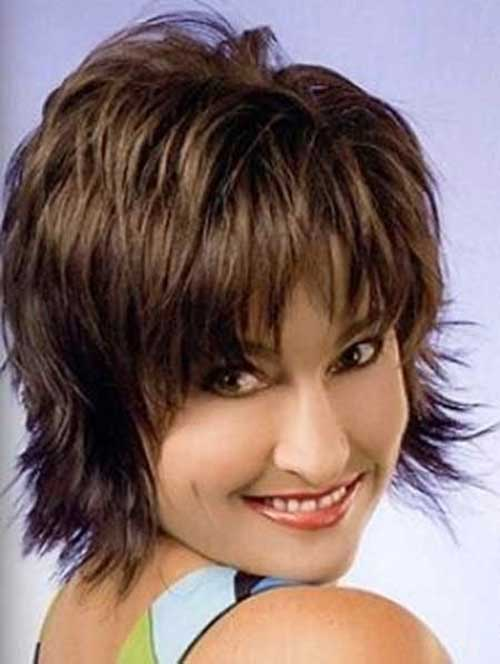 Best Lovely Short Shaggy Haircut
