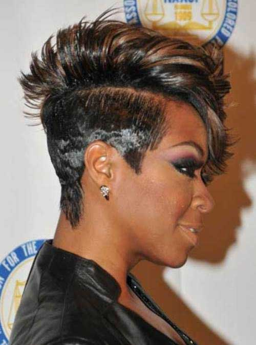 Mohawk Short Hairstyles For Black Women Short Hairstyles 2016