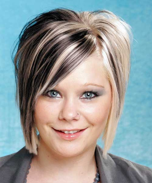 Two Tone Hair Color For Short Hair Short Hairstyles 2016 2017
