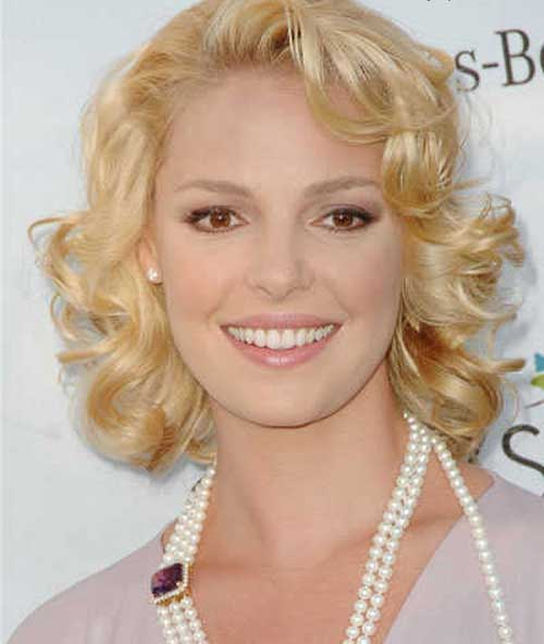 Short Curly Hairstyles For Thin Hair Short Hairstyles 2016