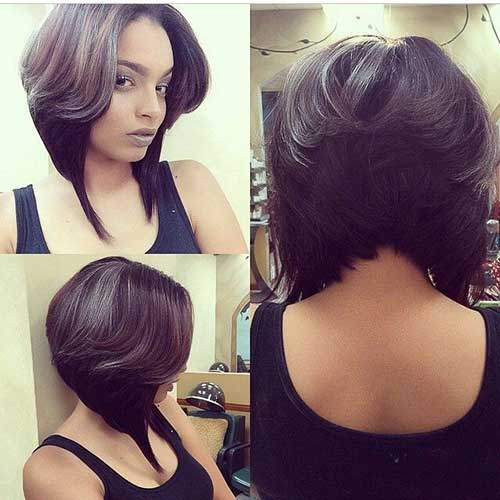 20 Best Layered Bob Hairstyles Short Hairstyles 2016 2017