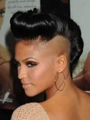 mohawk short hairstyles black