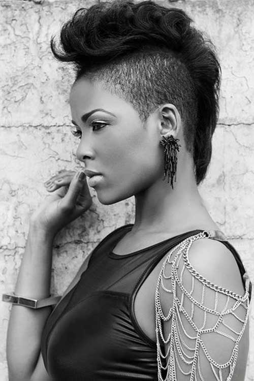 Mohawk Short Hairstyles For Black Women Short Hairstyles 2016