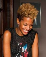 good natural black short hairstyles