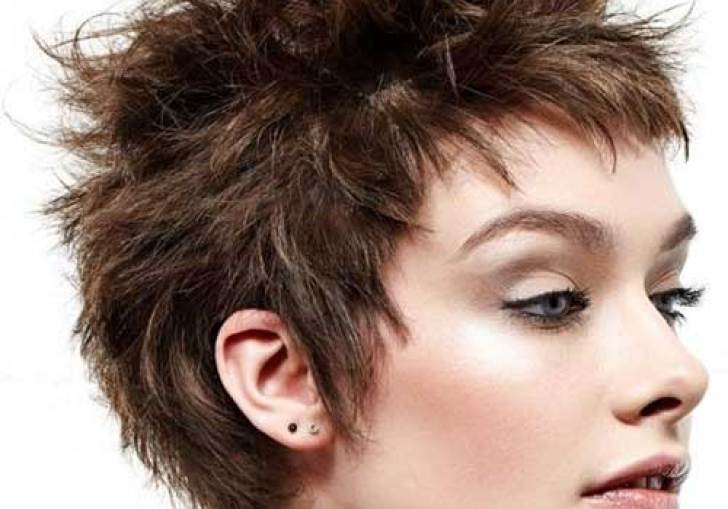 Short Spiky Haircuts For Women Over 50