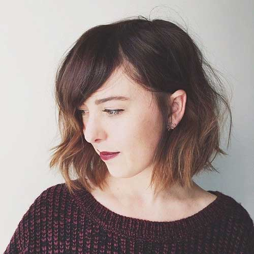 Image Result For A Bob Haircut With Bangs