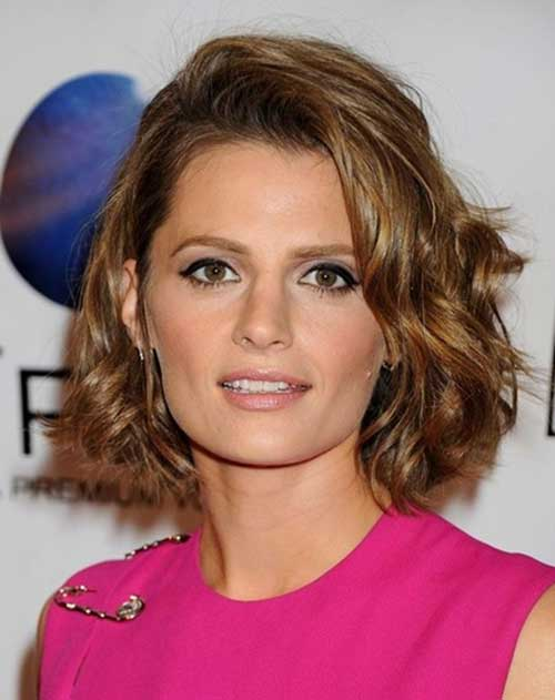 Short Haircuts For Wavy Thick Hair  Short Hairstyles 2017  2018  Most Popular Short