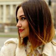 short hairstyles with ombre