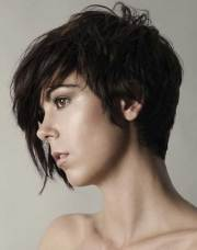 short hairstyles dark hair