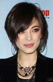 cute short hairstyles thin