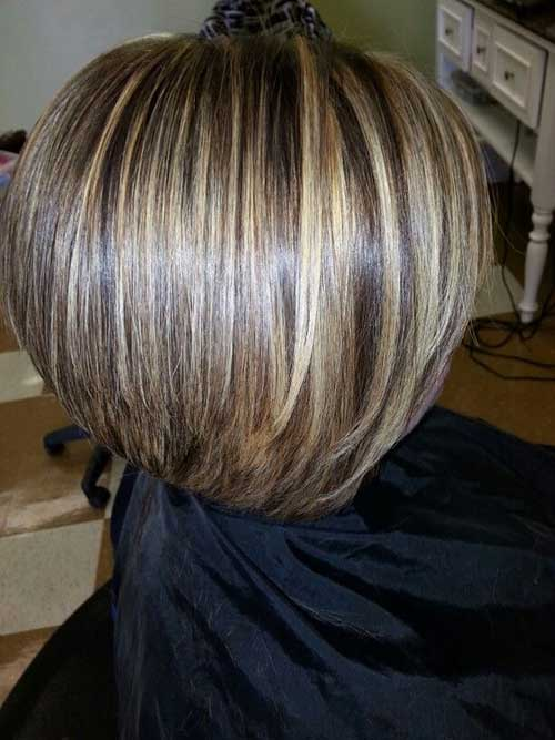 15 Highlighted Bob Hairstyles Short Hairstyles 2016 2017