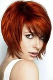 red bob haircuts