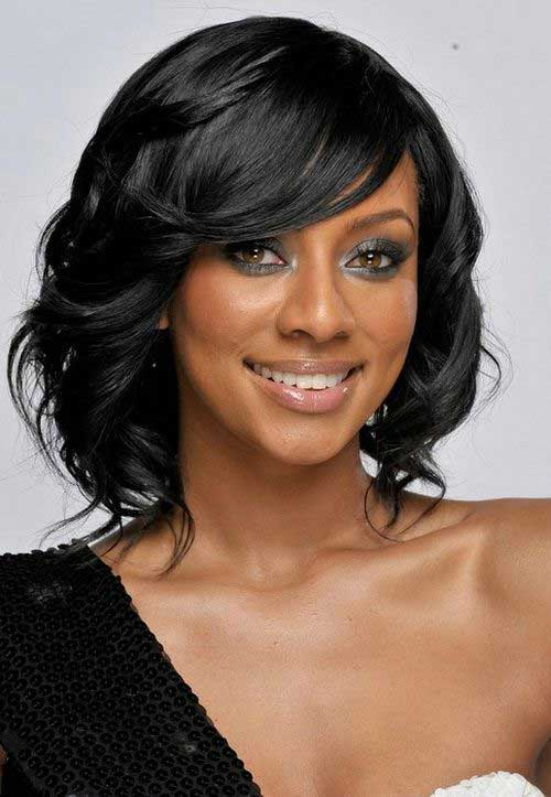 15 New Short Hairstyles With Bangs For Black Women Short