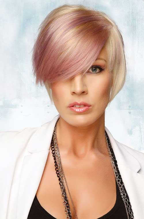 15 Short Blonde And Pink Hairstyles