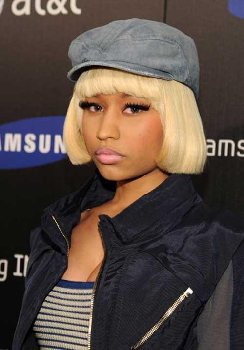 Nicki Minaj Blonde Bob Hairstyles Short Hairstyles 2017
